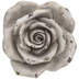 Vintage White Rose - Large