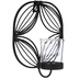 Black Square Metal Wall Sconce