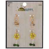 Butterfly & Daisy Charms