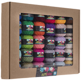 Multi-Color Artiste Crochet Cotton Thread