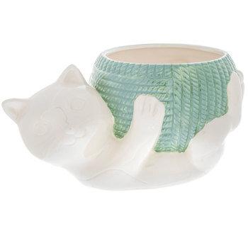 Cat & Yarn Bowl
