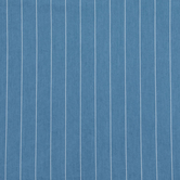 Light Wash Wide Striped Chambray Fabric