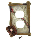 Baseball Outlet Cover