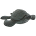 Antique Green Turtle Metal Key Holder