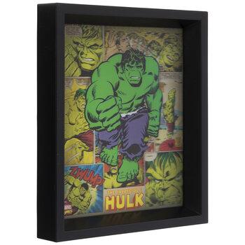 Hulk Lenticular Wood Wall Decor
