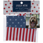 American Flag Pet Scarf