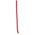 Red Dyed Jade Round Bead Strand - 6mm