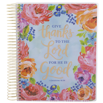 2020-2021 1 Chronicles 16:34 Planner - 18 Months