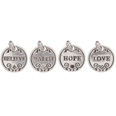 Round Word Charms