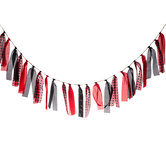 Lumberjack Ribbon Garland