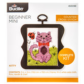 Kitty Counted Cross Stitch Kit