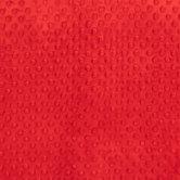 Red Bubble Microfiber Fleece Fabric