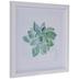 Green Watercolor Succulent Framed Wall Decor