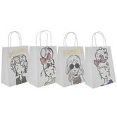 Girls Foil Craft Gift Bags