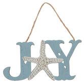 Joy Starfish Ornament