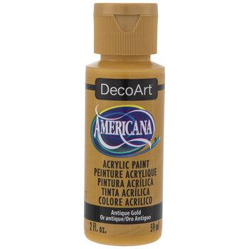 Antique Gold Americana Acrylic Paint