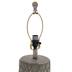 Distressed Wood Grain Trellis Lamp