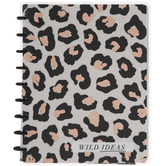 Wild Ideas Leopard Print Happy Notes Journal