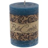 Blue Fantasy Pillar Candle