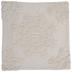 White Tufted Medallion Pillow Cover