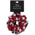 Red & Black Minnie Mouse Scrunchies