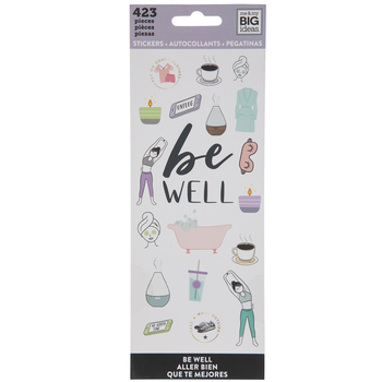 Be Well Stickers