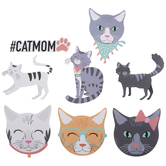 Happy Cats Stickers