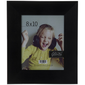Matte Black Wood Wall Frame