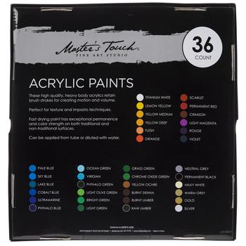 Acrylic Paint - 36 Piece Set