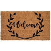 Welcome Wreath Doormat