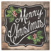 Merry Christmas Wood Decor