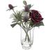 Dahlia, Rose & Thistle Arrangement