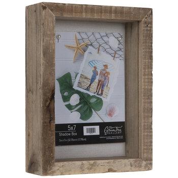 """Wood Shadow Box - 5"""" x 7"""""""