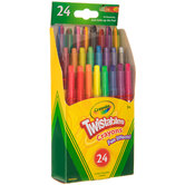 Crayola Fun Effects Twistable Crayons - 24 Piece Set