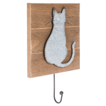 Metal Cat Wall Hook