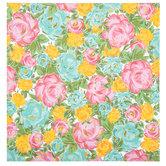 "Floral Foil Scrapbook Paper - 12"" x 12"""