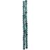 Green Round Matte Glass Bead Strand