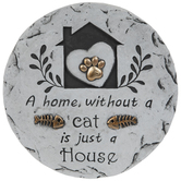 Home Without A Cat Stepping Stone