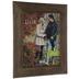 Espresso Rustic Wood Wall Frame - 11