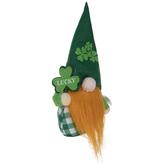 Green Buffalo Check Gnome With Beard