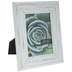 White Distressed Crackle Wood Frame - 5