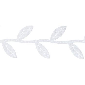 """White Leaf Trim - 1"""""""
