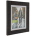 Black & White Rustic Wood Wall Frame - 8