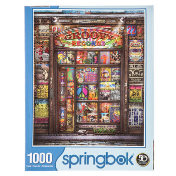 Groovy Records Puzzle
