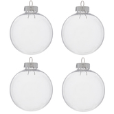 "Ball Ornaments - 3 1/4"""