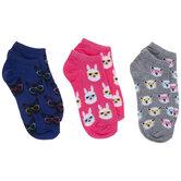 Pets In Glasses Low Cut Socks