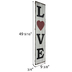 Love Wood Wall Decor