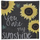 Sunflower Sunshine Canvas Decor