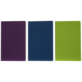 Purple, Blue & Green Sketchbooks
