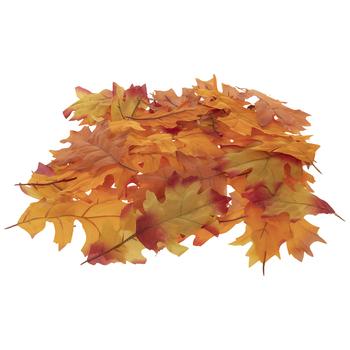 Red & Orange Mixed Oak Leaves